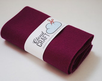 100% Wool Felt Roll - 12x90cm - Berry Pie