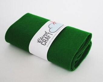 100% Wool Felt Roll - 12x90cm - Baize