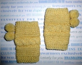 Knit Cable Leg Warmers, Baby boy Leg warmers, Newborn Leg Warmers, Toddler Leg warmers, Infant Leg Warmers , Baby shower gift ,