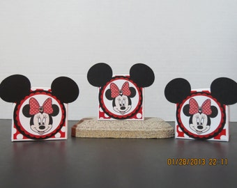 Minnie Mouse Favor/Treat Boxes