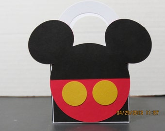 Mickey Mouse Favor/Treat Bags