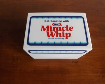 Miracle Whip Recipe Box