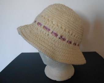 Crocheted Hat size small