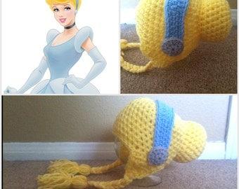 Crochet Cinderella Inspired Beanie/Hat