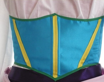 "Esmeralda Gypsy Corset Made-to-Order Waist Size 26""-33"""