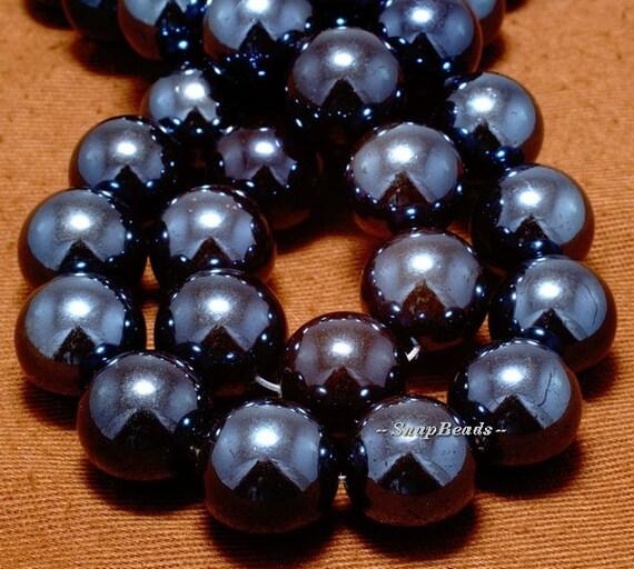 14mm midnighte shell gemstone midnight blue 14mm by