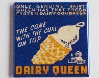 Dairy Queen Ice Cream Fridge Magnet