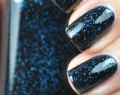 Bar Fight Black and Blue Nail Polish 15ml (.5oz)