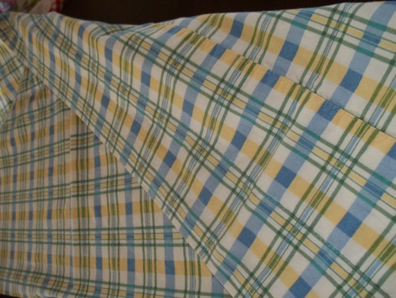 Valance Plaid Valences 2 Pc Plaid Curtains Really Long