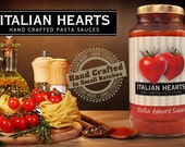 Bella Amore Pasta Sauce with spicy kick