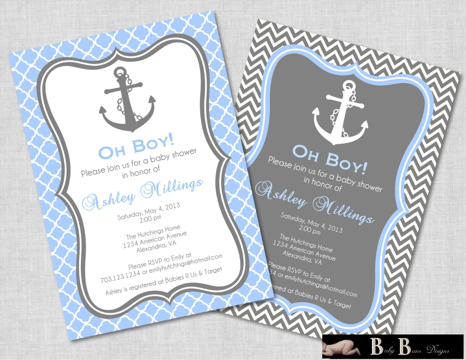 Custom Baby Shower Invitations For Boys was awesome invitations sample