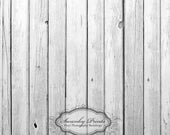 3ft x 3ft PRODUCT  / Vinyl Photography Backdrop / Silver Wood