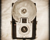 Vintage Camera, Brownie Starflash 8 x 8 Photography Art Print- Great Gift for the Photographer