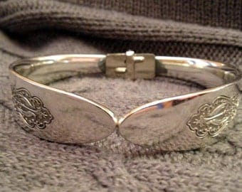 Bird of Paradise 1923 Silverware Bracelet