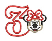 Minnie Mouse Applique, Minnie Mouse Applique, Minnie Mouse Birthday, Disney Embroidery (101) Instant Download