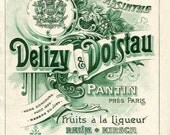 Vintage French Absinthe Label