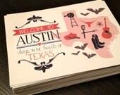 Welcome to Austin, Texas Postcard