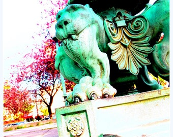 24th Hennepin Gargoyle - Wall Art & Home Decor Photographic Image - 8x10 - additional sizes available