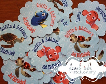 Finding Nemo Personalized Stickers