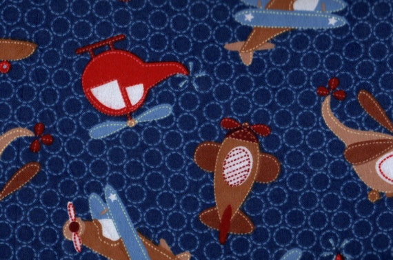 Unavailable listing on etsy for Airplane fabric by the yard