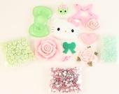 "SALE - Petit Deco ""Dazzling"" Pink / Green Kit"