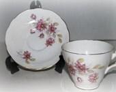 Royal Ascot bone china cup and saucer        tea cup and saucer