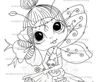 INSTANT DOWNLOAD Digital Digi Stamps Big Eye Big Head Dolls Digi  My - Besties  IMG695 By Sherri Baldy