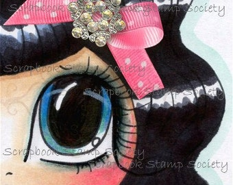 INSTANT DOWNLOAD Digital Digi Stamps Big Eye Big Head Dolls Digi  My - Besties  Img593 Eyes 5 By Sherri Baldy