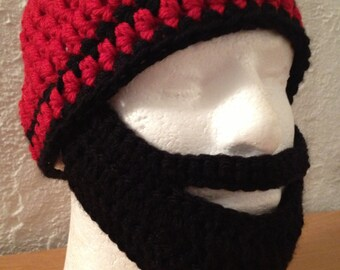Ready to Ship Mens Beard Hat