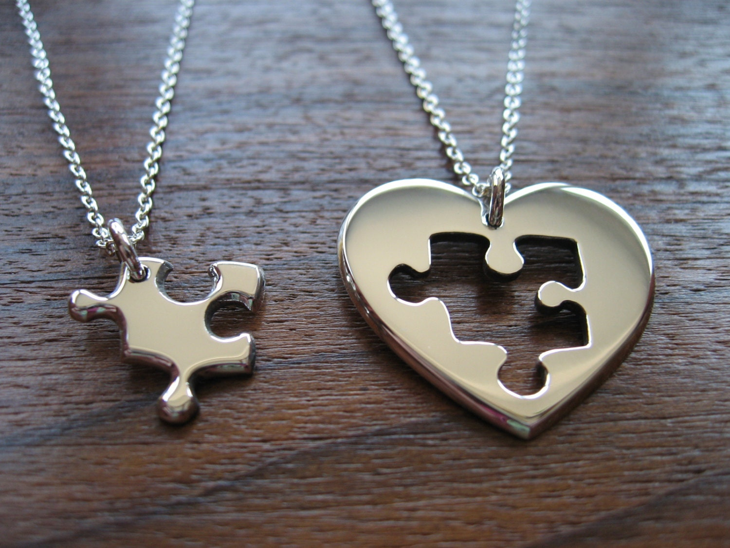 his necklace hers az stainless products for titanium necklaces and steel finov waiting puzzle you love
