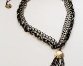 chain lariat necklace // KRUG