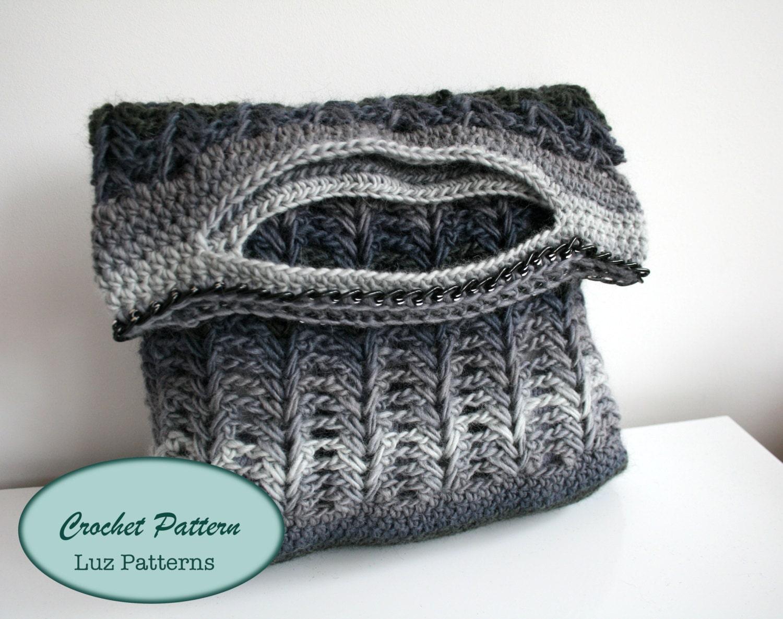 Crochet patterns crochet bag pattern crochet by LuzPatterns