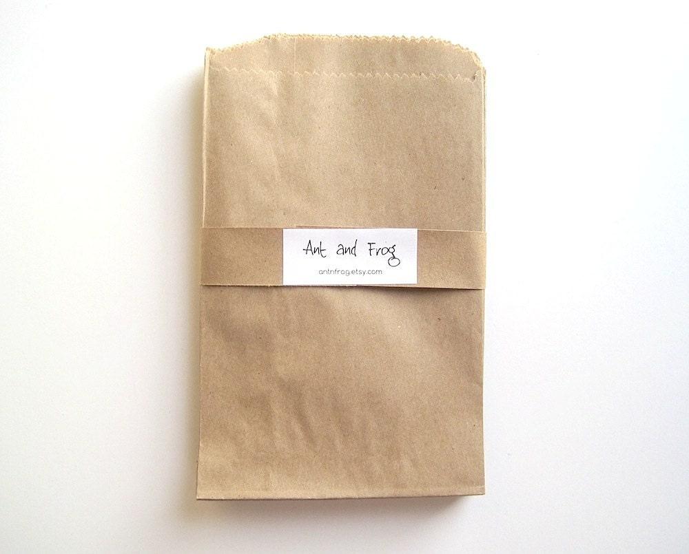 kraft paper goodie bags