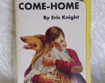 """Vinage Book """"Lassie Come-Home"""" by Eric Knight"""
