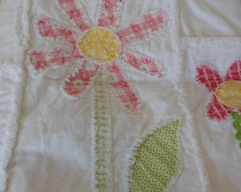 Baby Girl Quilt Kit Beginner Simple Patchwork KIY Do It Yourself