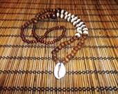 Mtu Beaded Cowrie Necklace