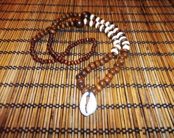 Mtu Beaded Cowrie Necklace