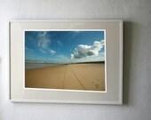 Beach in France Fine Art Photography Print 100 x 70 cm