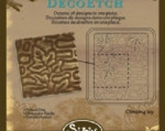 Sizzix DecoEtch Die - Climbing Ivy by Vintaj - NEW DESIGN
