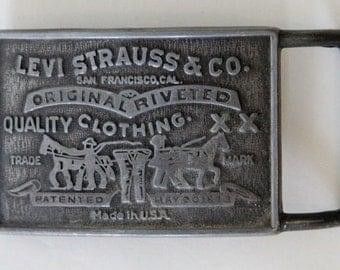 Vintage Levis Metal Buckle