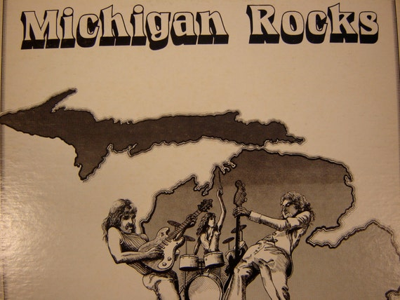 Michigan Rocks Lp Rare Detroit Garage Rock Collection 1977