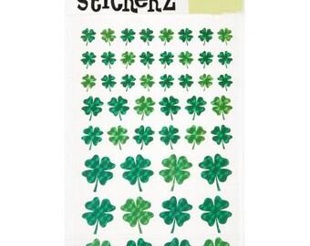 Shamrock Sticker Sheets (2 Sheets)