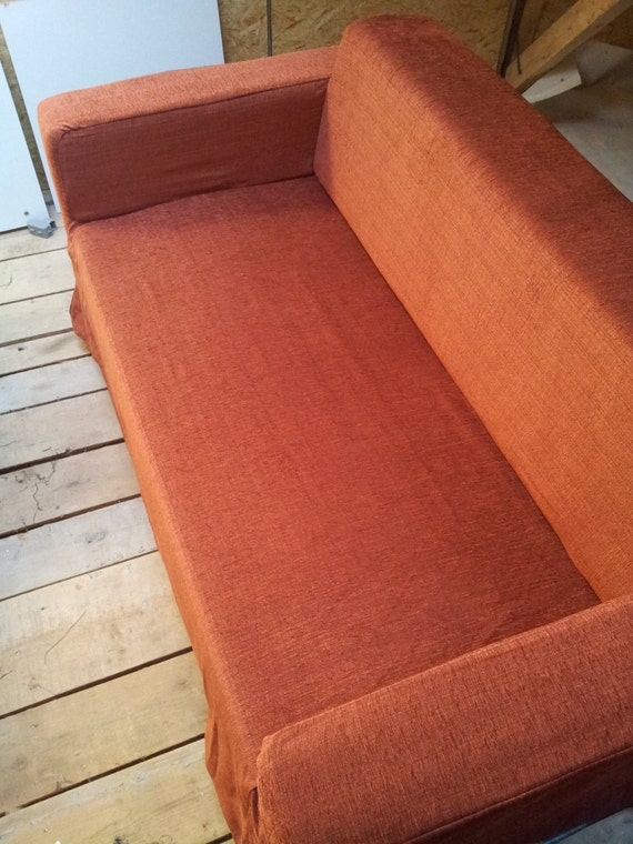 Slipcover For Klobo Sofa From IKEA Reddish Brown By