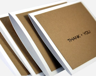 Simple thank you cards, Thank You cards for men, masculine thank you cards, thank you card set