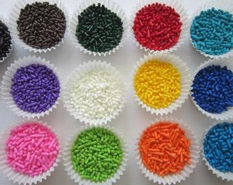 4oz Sprinkles Jimmies Cupcake Cookie Cake Pop