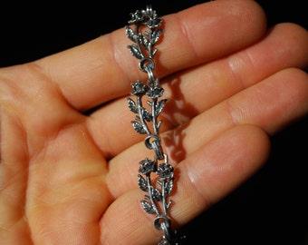 Vintage Sterling Silver Bracelet - RARE