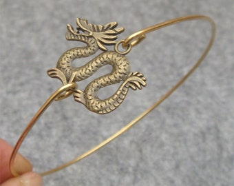 Dragon Bangle Bracelet Style 2