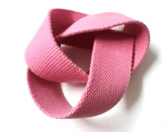 5 YARDS Pink Gross Grain Trim Ribbon 1.4'' - for Crafts, Sewing , Accessories