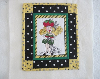 Mini quilt/wallhanging/mat