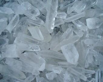 Clear Quartz Crystal Point R91